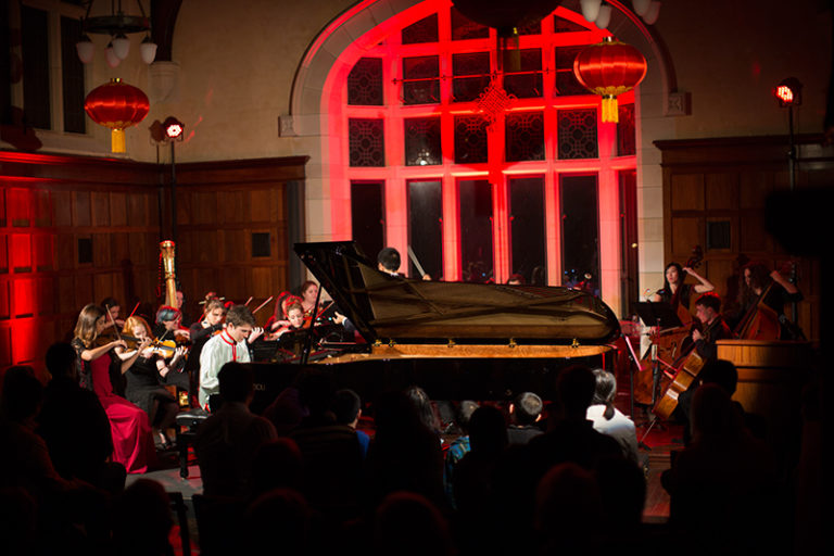 10/05/2014: First Piano Concerto   The first piano concerto performance at St George's College takes place, with pianist Aidan Boase playing movements from the  Yellow River Piano Concerto.