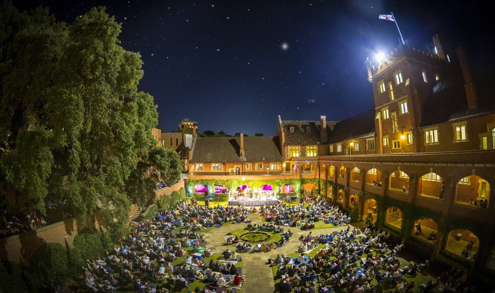 22/12/2014: 'Christmas in the Quad' Founded   The annual  Christmas in the Quad  concert is founded, the inaugural concert seeing over 1100 guests at St George's College.