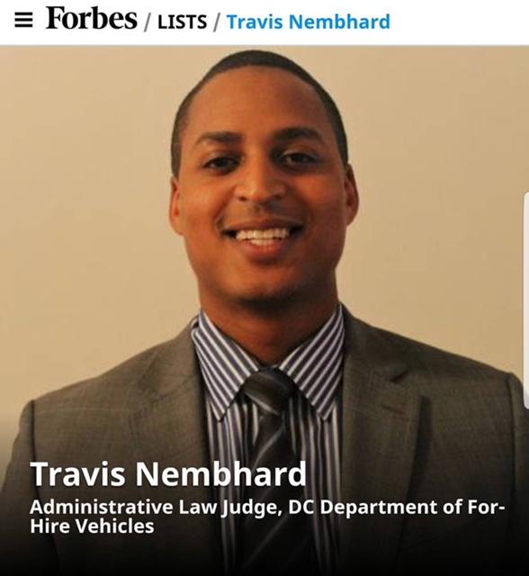 Forbes List Travis Nembhard