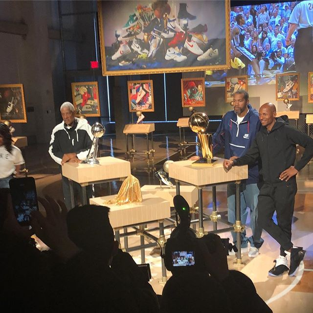 Reliving Legendary Moments @Nike   #ArtOfTheChampion #ShineHardMedia