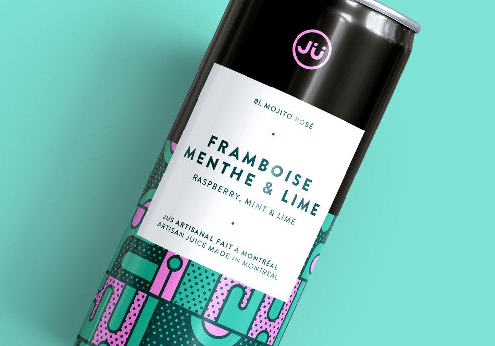 Ju Packaging Branding Illustration