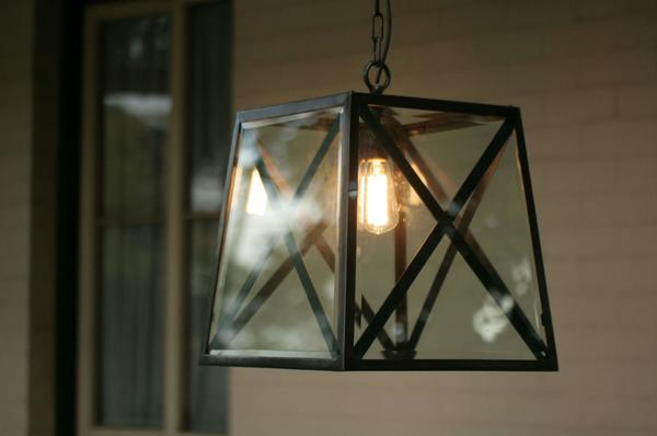 The Norfolk Lantern with Criss Cross