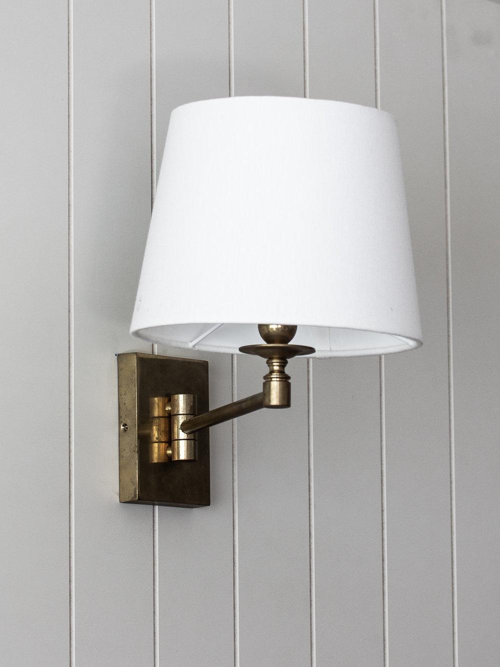 The Bancroft Swing Arm Wall Lamp