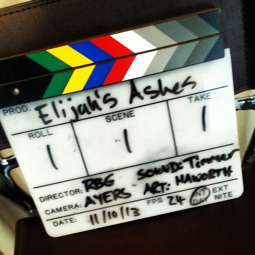 First Day Slate!