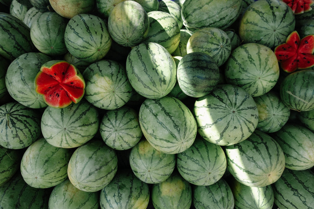 Saturdays Market Dikwella Hiriketiya Melons