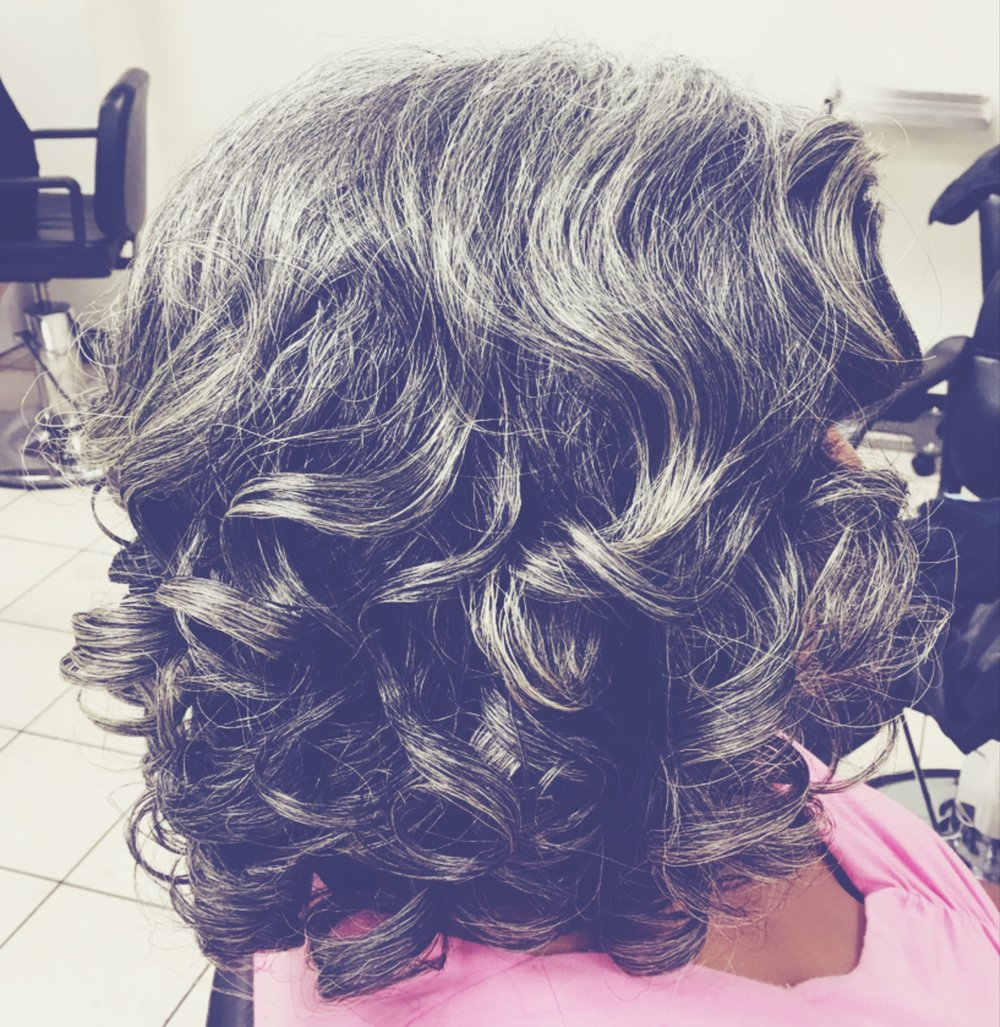 Roller Set | Natural Hair