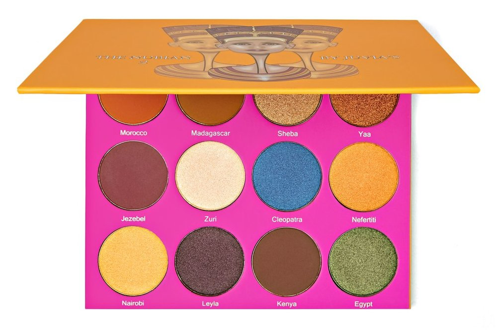 """Juvias Place Nubian 2 Palette- I used the shade Morocco for my transitional shade and Jezebel in my outer """"v"""". I also use the shade Nefertiti to highlight my face."""