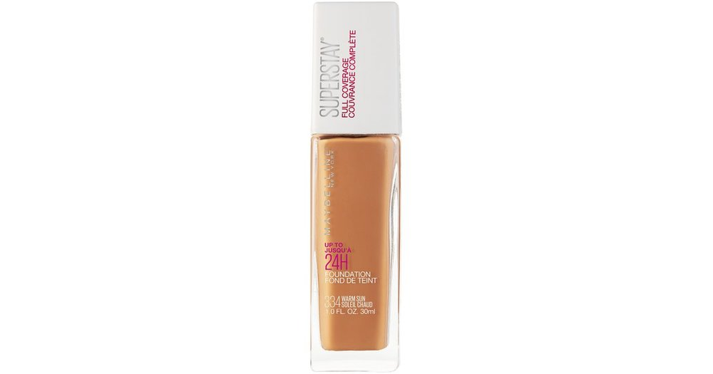Maybelline Super Stay Foundation- Warm Sun mixed with Warm Coconut