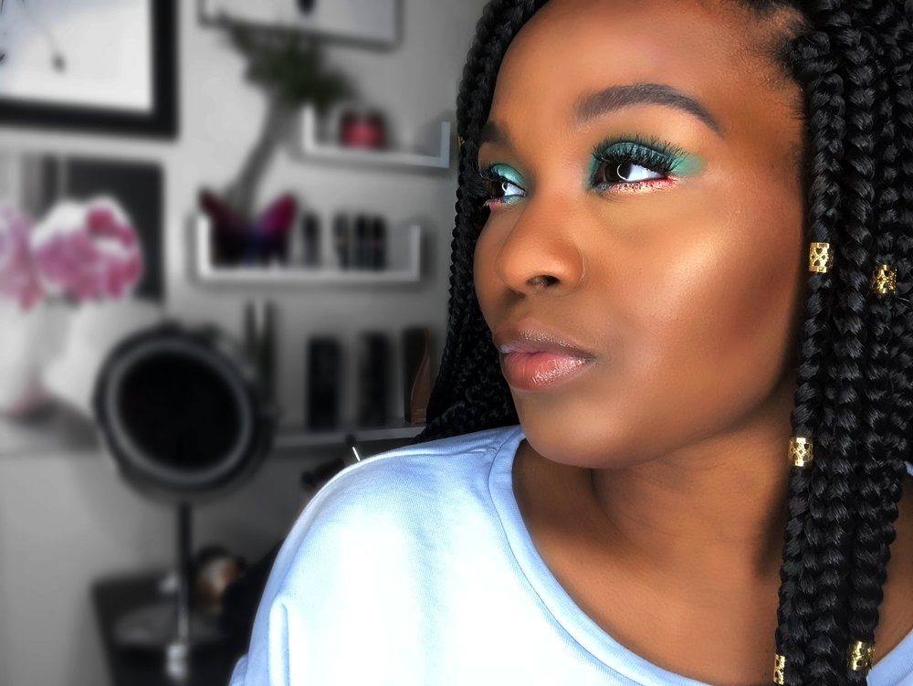 How To Naturally Wear Colorful Makeup Nadria Taylor