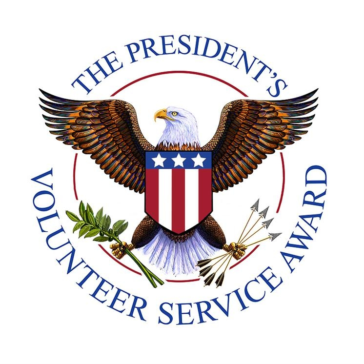 "Presidential Volunteer Service Award    ""The President's Volunteer Service Award (PVSA) is the premier volunteer awards program, encouraging citizens to live a life of service through presidential gratitude and national recognition."