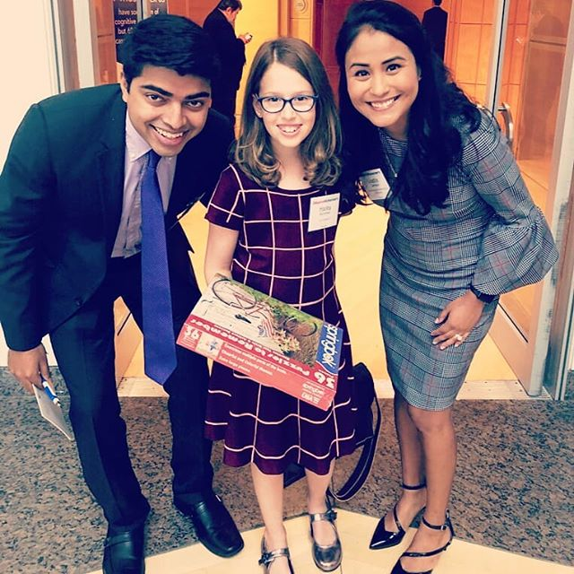 Lucky to share the stage today at the #usagainstalzheimers National Alzheimer's Summit with these two superstar ladies.  Hailey Richman is the founder of @kidcaregivers - a platform for kids who are caring for their parents or grandparents to share support tips with each other an simultaneously donates thousands of puzzles to senior care sites..... she's 11!  Lizette Carbajal has been raising her voice for years about how having to take care of her family during her college and early career years has transformed life for her. She's a well spoken example of how dynamic the experience of caregiving is for millennials.  So inspired by you both!! #bethechangeusa2