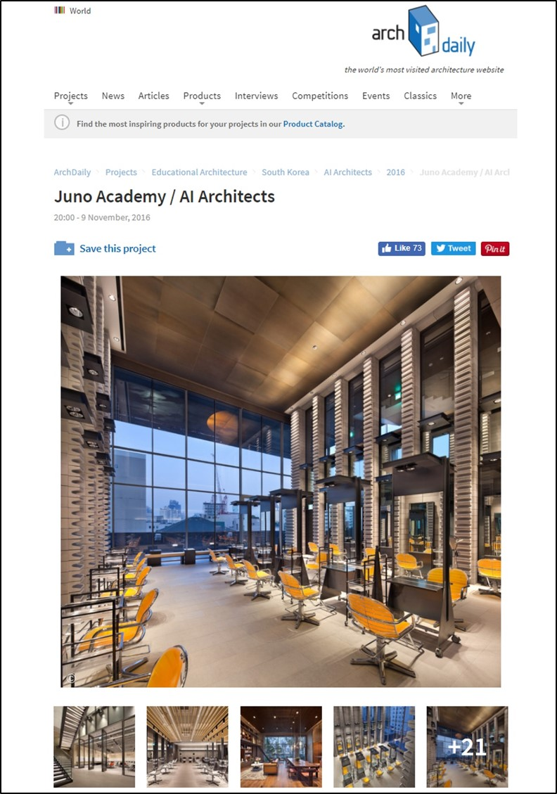 ARCHDAILY - 2016 . 11 . 09