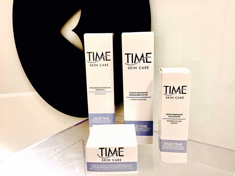 prodotti time skin care