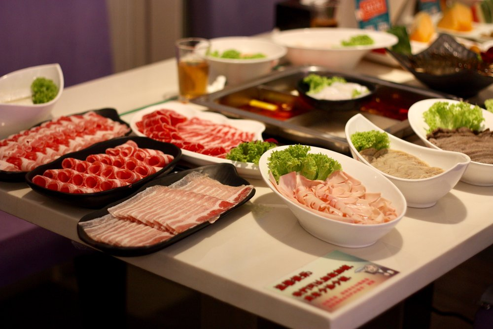 Xun Wei Hotpot's Assortment of Meat Dishes