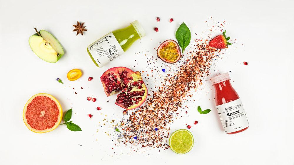 Fresh Mix - Cócteles alcohólicos frescos basadosen jugos PRESS COLD