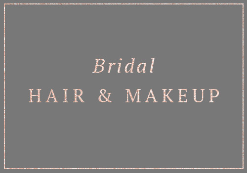 Bridal hair and makeup in Surrey