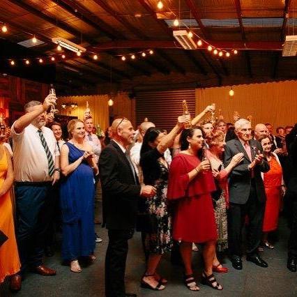 Cheers from guests @studiorawmaterials #weddinghour #wedding #industrialstylevenue #vintageweddings #rusticweddings #melbournevenue #melbournevenues #footscrayvenue #innerwestvenue #eventprofs #corporateevents #foodlovers #uniquevenue #sharedplatters #sharedplates #realwedding #australianwedding #victorianwedding #weddingmoments #weddingdesign #weddinginspiration #weddingstylist #Melbourne #weekdayweddings  #cocktailparties #corporateevents #privatedining #corporatefunctions