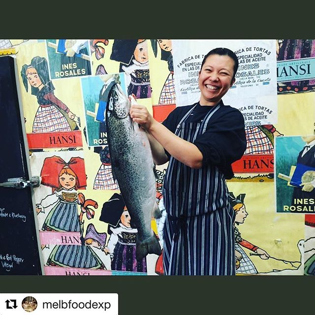 #Repost @melbfoodexp (@get_repost) ・・・ Chef Tamaki preparing for her Japanese masterclass with Melbourne Food Experiences. Book your team in for sashimi galore - 1800 801 838. @melbfoodexp @melbourne #corporateevent #melbfoodexp #sushi