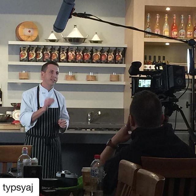 #filmshoot in the kitchen @studiorawmaterials #filming #venue #filmstudio #melbourne #kitchendemonstration #chefsofinstagram @glenn_flood @typsyaj