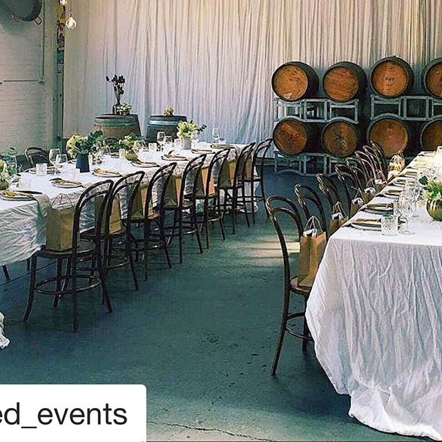 Great styling @curated_events for this fabulous #longlunch held at @studiorawmaterials this afternoon! #eventstyling #eventmelbourne #eventprofs #venue #event #eventspace #melbourne #footscray