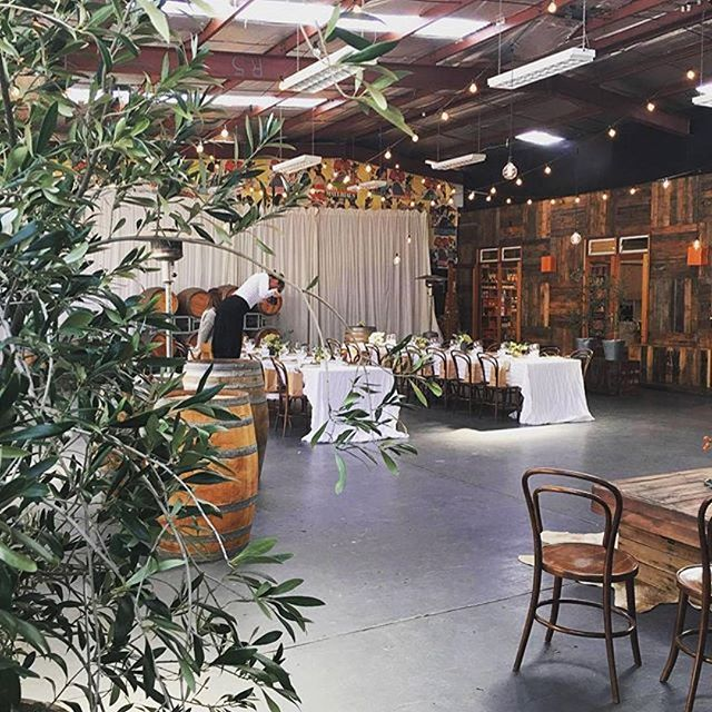 @harvestandfeastau and styled by @curated_events at #Melbourne #venue @studiorawmaterials #eventprofs #event #corporateevents #harvestandfeastau