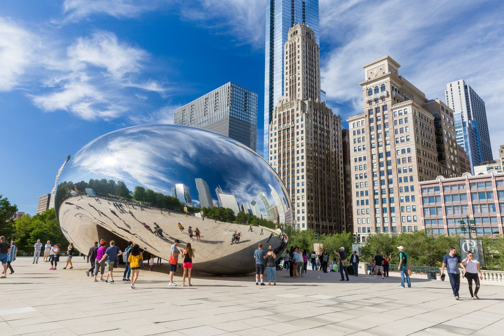 Cloud Gate, Chicargo