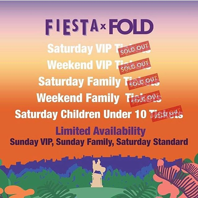 Wow, we still can't believe we are actually throwing parties for all your Mini Manoeuvres with @nilerodgers @wearedelasoul @goldfrappmusic and more @fiestaxfold in Kelvingrove this summer! In just over 3 weeks to be precise! Family and kids tickets for the Saturday have now sold out so if you are thinking about coming on the Sunday, don't sleep as they won't last forever 🔥 🎟💃🏾🎟 #Repost @fiestaxfold ・・・ 📣TICKET UPDATE 📣 Wowzer! Tickets are now flying out the door and we have sold out of many ticket options. We are down to limited availability in most areas 🎟 If you're not fast.... For tickets click the link in bio, don't miss out! #fiestaxfold #festival #glasgow
