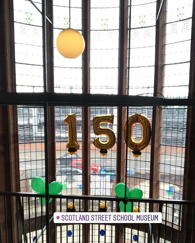 Hope you all had a good time at Charles Rennie Macintosh's 150th party on Sunday! Great event put on by the team at Scotland Street, we hope to have another party there soon 💥 next stop @fiestaxfold_festival with @nilerodgers @thechicorganization @wearedelasoul @goldfrappmusic @morcheebaband @earthwindandfire @hueymorgan and our favourite @djnick54 among others 🏆💫💛#cantwait #cantbeliveit #glasgow #familyfestival