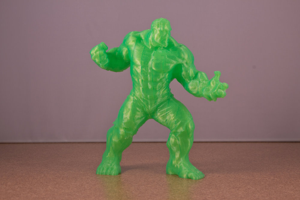 3D Printed Incredible Hulk