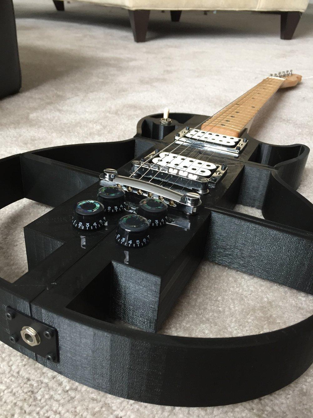 3D Printed Guitar 1