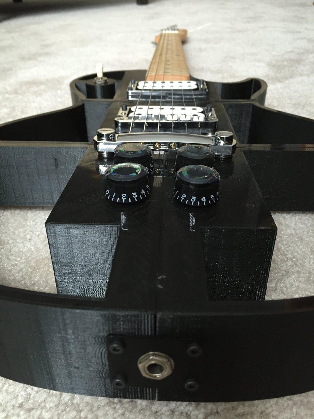 3D Printed Guitar 2
