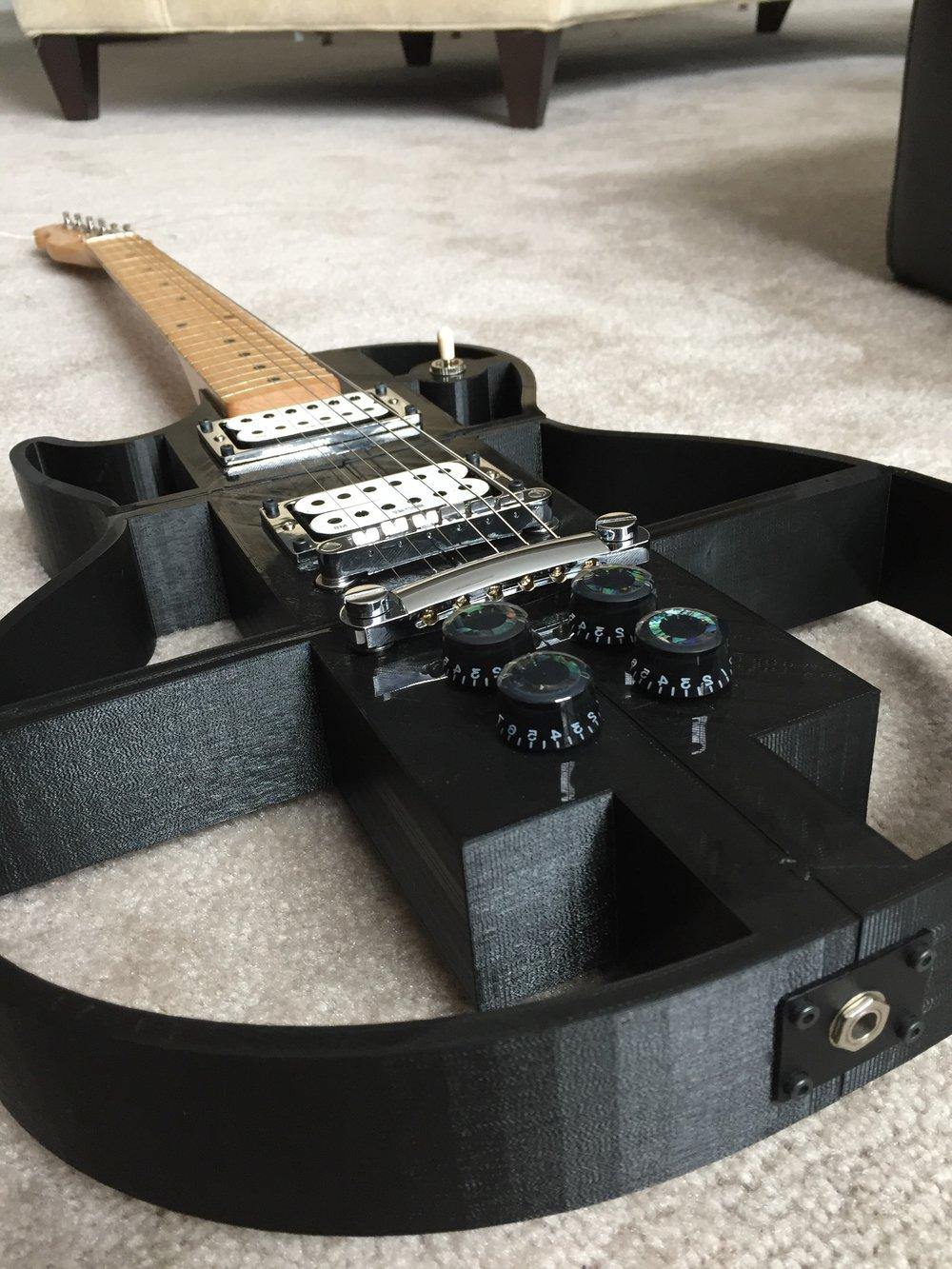 3D Printed Guitar 3