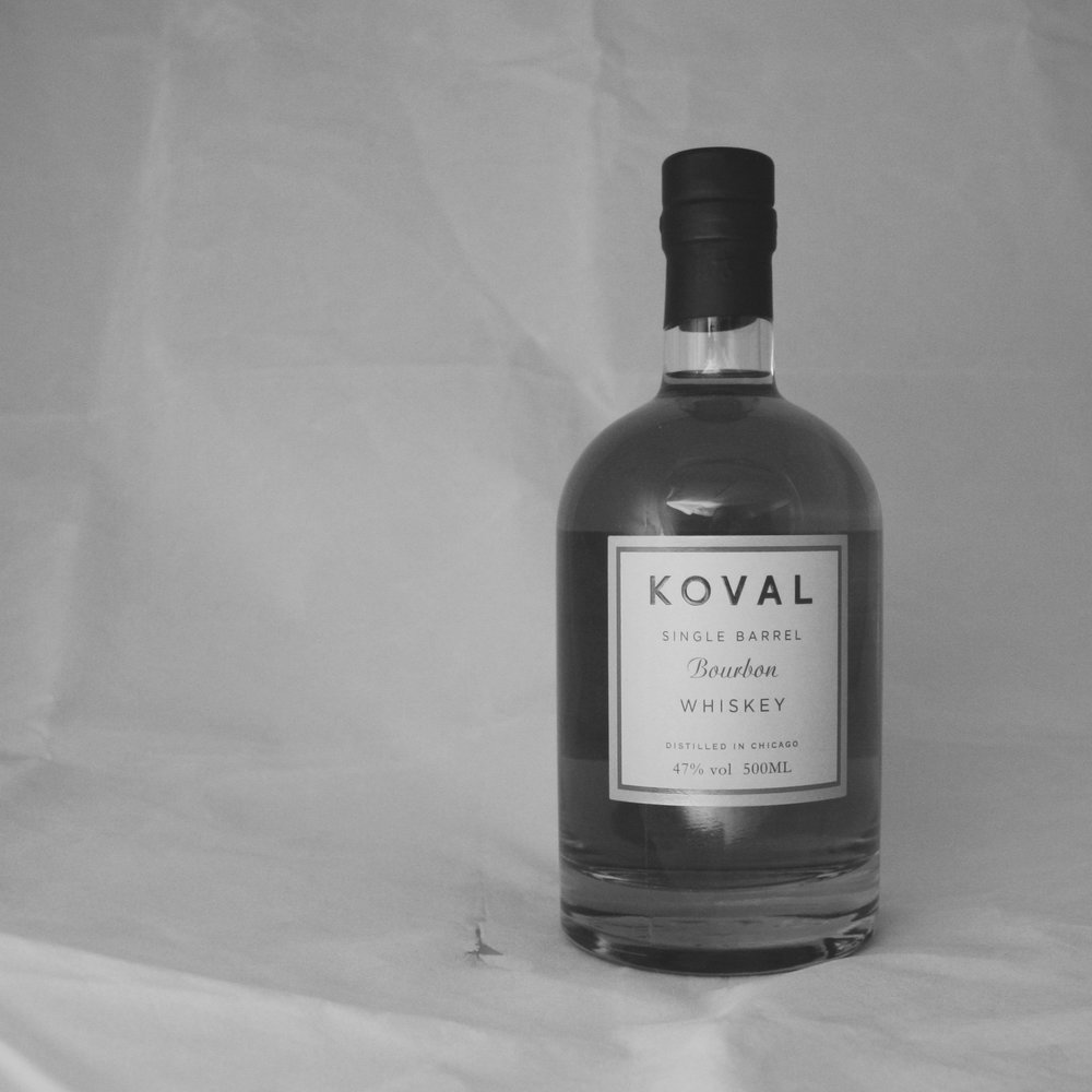 Koval Bourbon Bottle