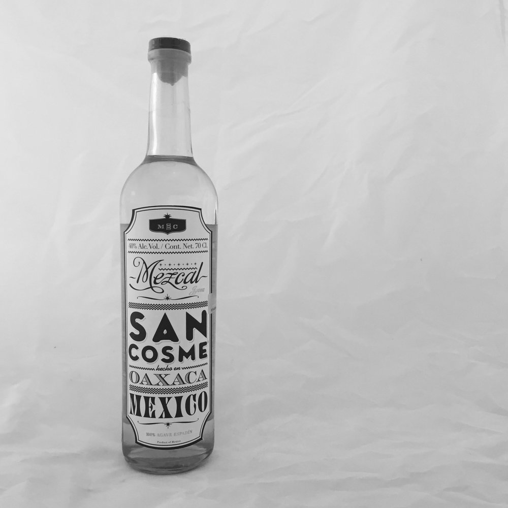 San Cosme Mezcal bottle