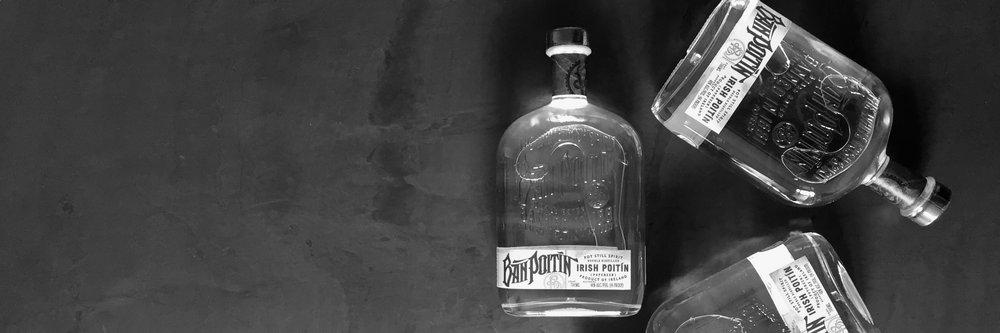 Ban Poitin bottles