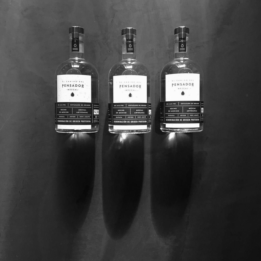 Pensador Mezcal Bottles