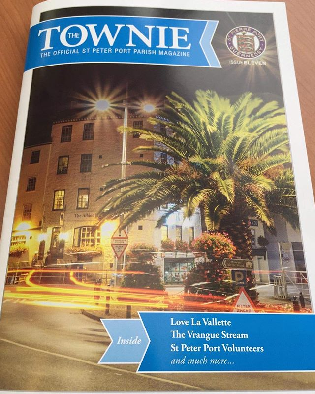 Pleased to have another image featured on the front cover of the Townie Magazine #townie #visitguernsey #landscapephotography