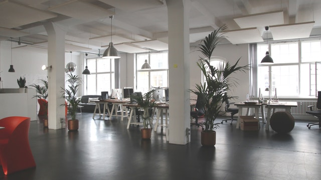 Healthy workspaces with great air quality improves team performance