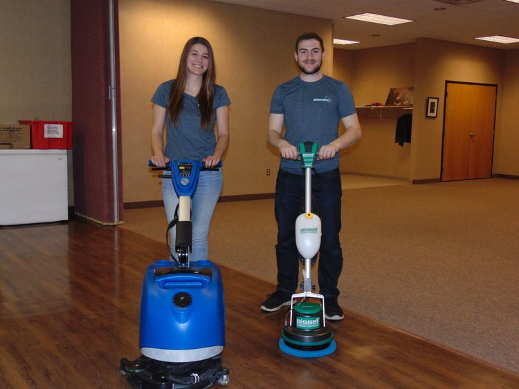 cleaning hard floors