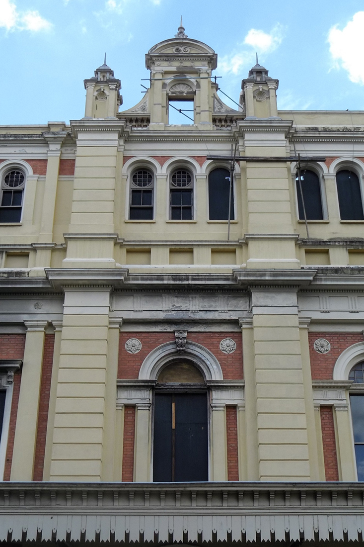 Museu da Lingua Portuguesa, que teve o inicio das obras de reforma do predio. FOTO: MARCIO FERNANDES