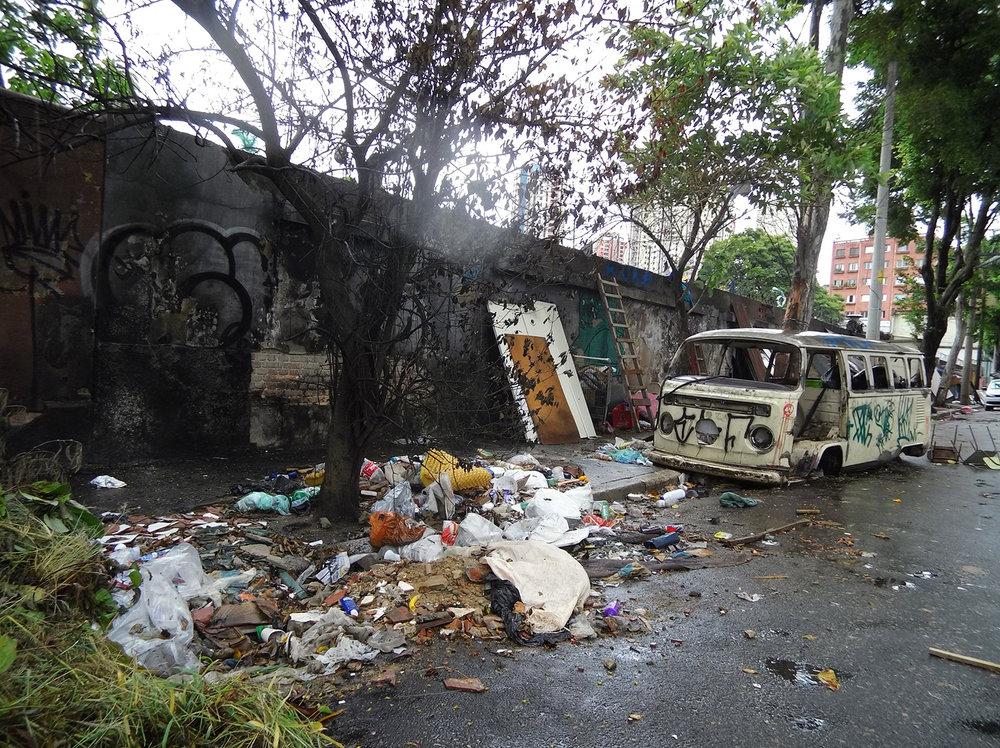 Rua Junqueira Freire, no Glicério na região central. Pauta: Abandono no Glicério Foto: Marcel Naves