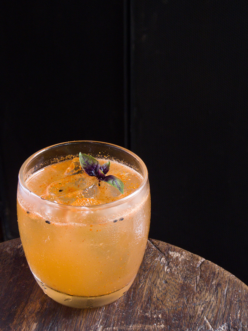 Junca drink, from Mica restaurant, at R. Guaicui, 33, Pinheiros district, West zone of Sao Paulo - Photo: Daniel Teixeira