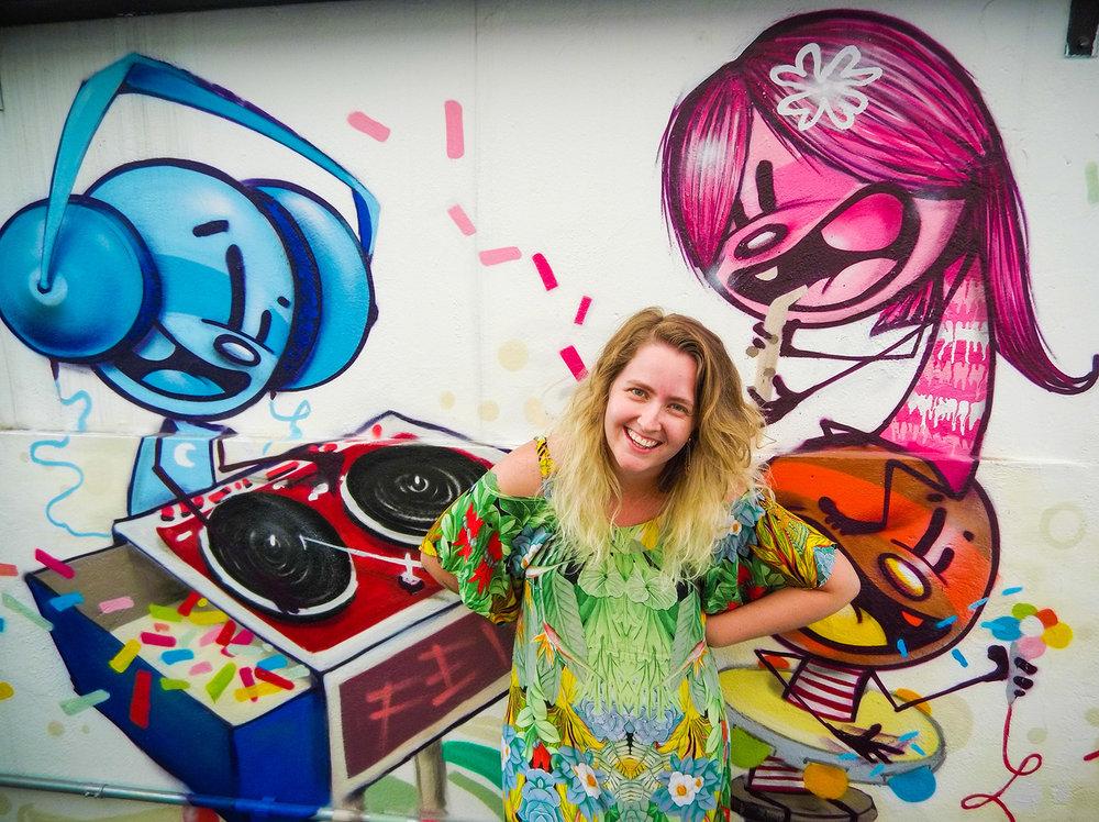 Retrato de Ysmin Muller, do streaming Deezer. Foto: Tiago Queiroz