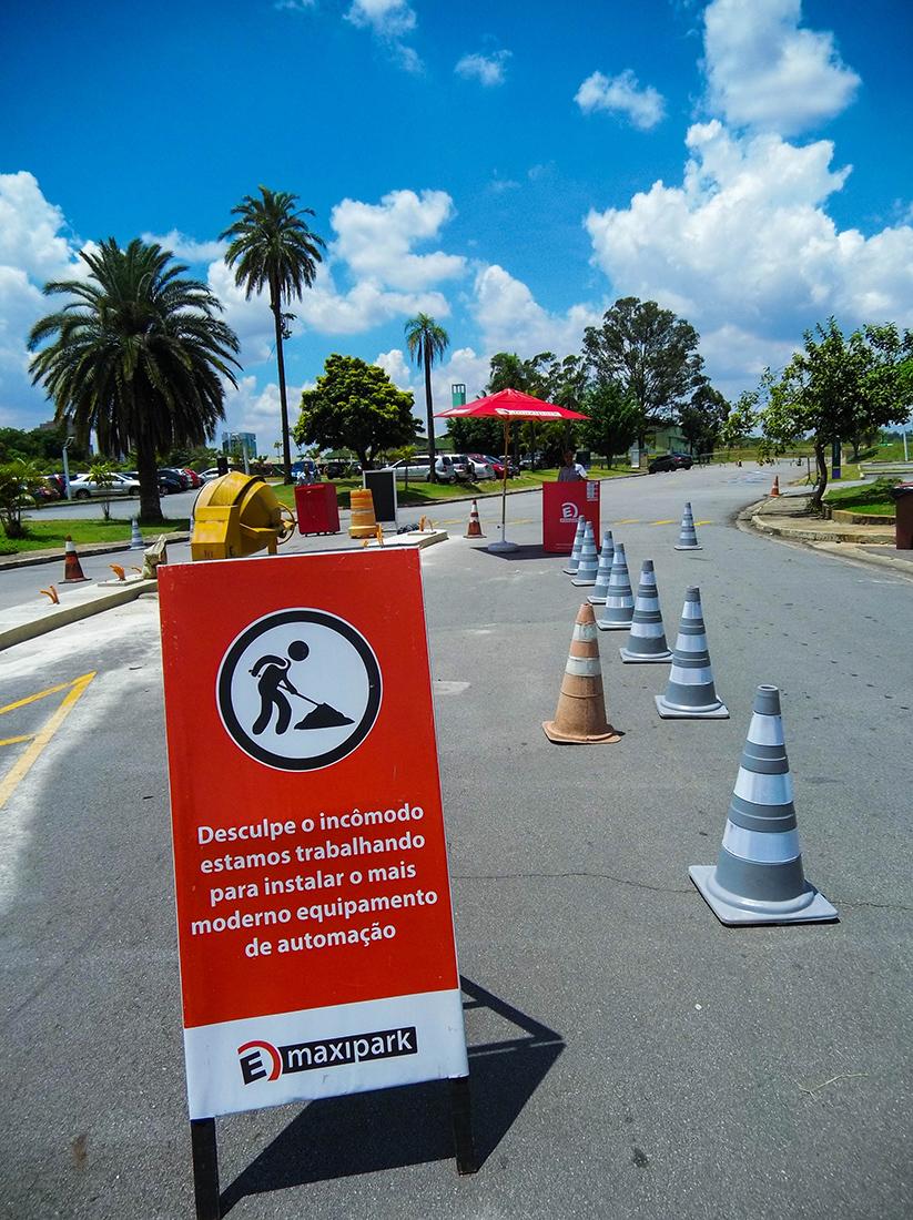 Parking lot at Villa-Lobos park is now paid. Photo: Tiago Queiroz
