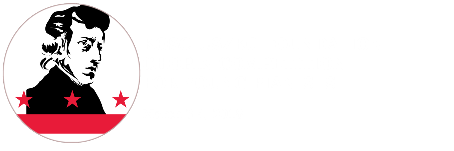 Kociuszko Foundation Chopin Competition For Young Pianists