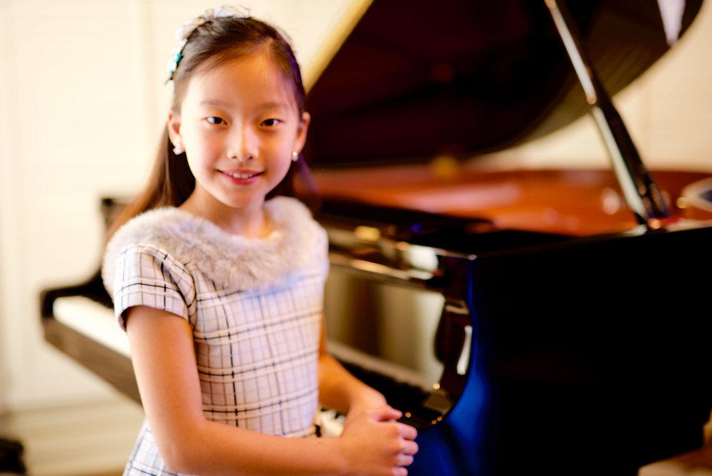 Emma Liu, NJ Student of Eunju Kim