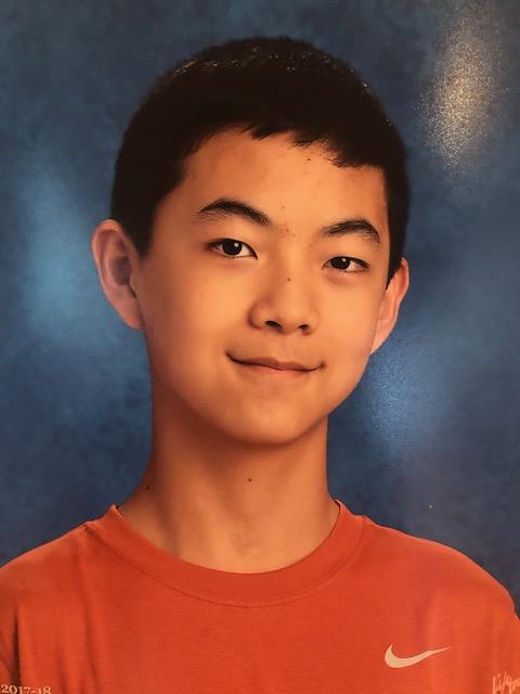 Andrew Zhang, VA Student of Marjorie Lee