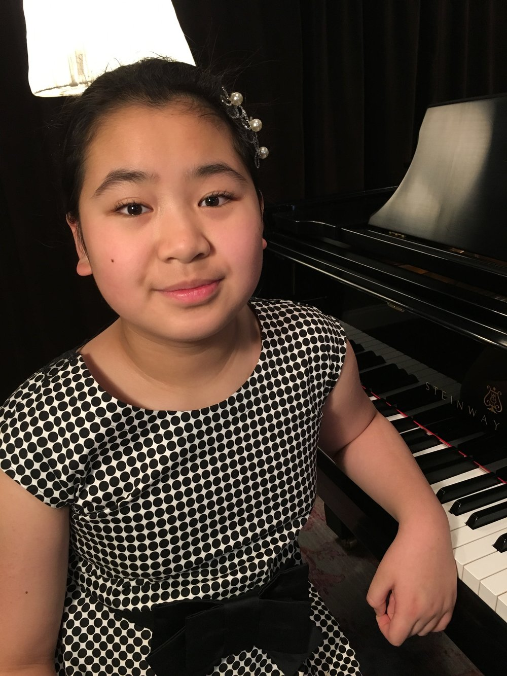 Patricia Zhuge, PA Student of Susan Starr