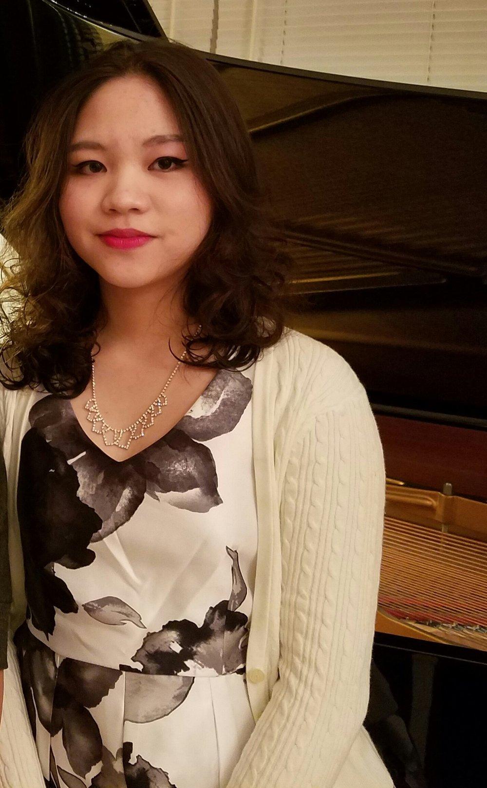 Uyen Nguyen, NY Student of Amy Gustafson