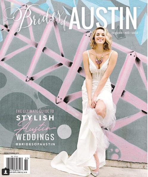Brides of Austin Magazine - PSR - DESSERT OPTION